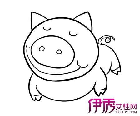 可爱卡通动物简笔画-可爱动物简笔画带颜色-小动物简笔画大全可爱图片