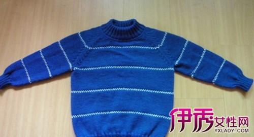 【图】细教从上往下织毛衣教程