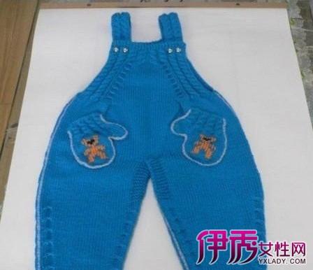 而儿童背带裤编织,因为花样很多