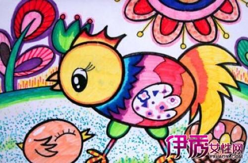 【幼儿小班涂色简笔画】【图】幼儿小班涂色简笔画