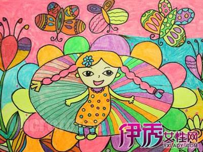 天真烂漫的儿童画特点 如何指导儿童能进行人物创作
