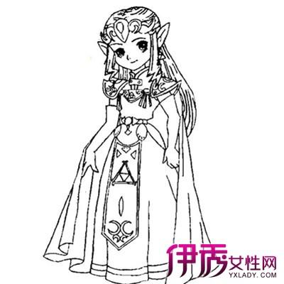 【公主儿童画画超简单】【图】公主儿童画画超简单