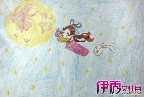 【儿童中秋节简笔画】【图】儿童中秋节简笔画图片