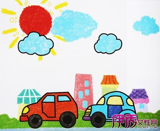 【图】儿童彩笔画欣赏