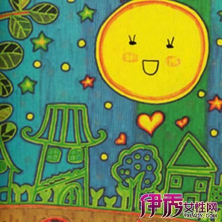 中秋节创意儿童画画大全