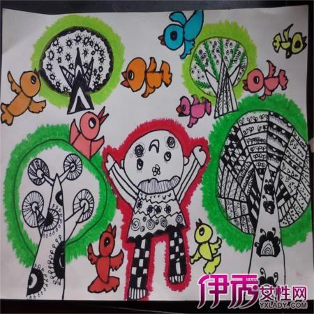 【幼儿园简单画画图片】【图】幼儿园简单画画图片