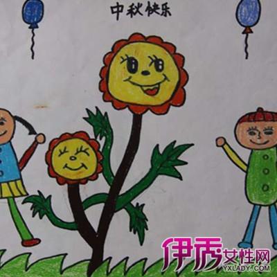 【幼儿园中秋节图画】【图】宣传幼儿园中秋节图画