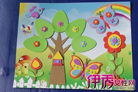 【儿童手工卡纸粘贴画】【图】儿童手工卡纸粘贴画
