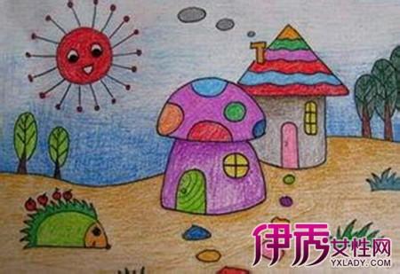 脑海中家里房子的样子简单的画出来,五分钟后老师看看谁画的最好哦