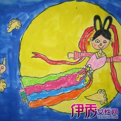 嫦娥奔月儿童画大曝光 嫦娥奔月的相关故事