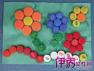 【幼儿园瓶盖手工制作】【图】幼儿园瓶盖手工制作