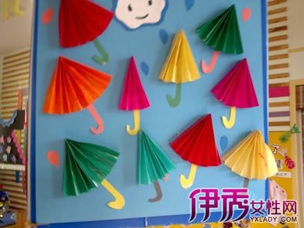 城北幼儿园:中,大班幼儿手工作品展示图片
