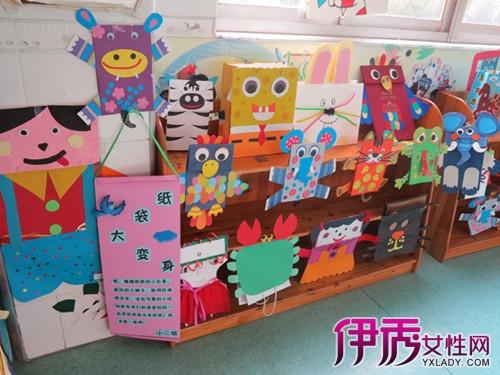 【图】欣赏幼儿园纸袋手工制作图片了解手工制图片