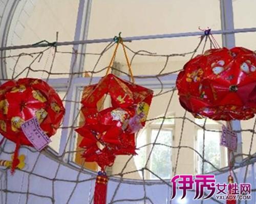 【幼儿园手工灯笼做法】【图】中秋节幼儿园手工灯笼