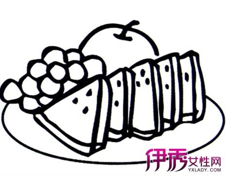 【幼儿简笔画水果图片】【图】卡哇伊幼儿简笔画水果