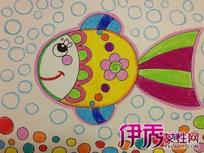 【图】鱼的图片儿童画图片欣赏