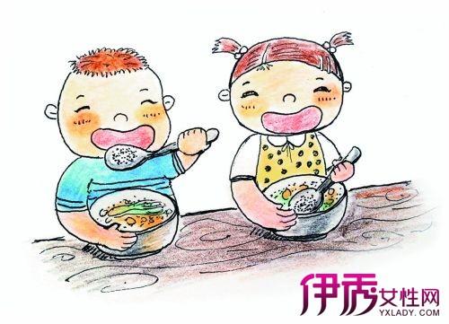 【小朋友吃饭卡通图片】【图】小朋友吃饭卡通图片