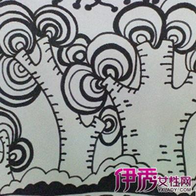 【幼儿园黑白画】【图】幼儿园黑白画图片欣赏