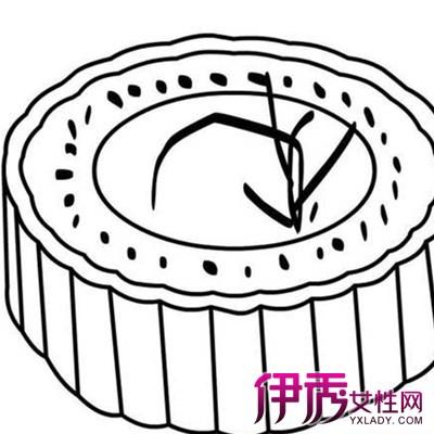 【幼儿园月饼简笔画】【图】轻松易学的幼儿园月饼简