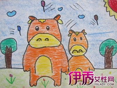 【幼儿园中班画画作品】【图】幼儿园中班画画作品