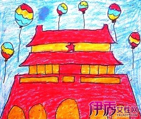 【儿童图画国庆简笔画】【图】儿童图画国庆简笔画