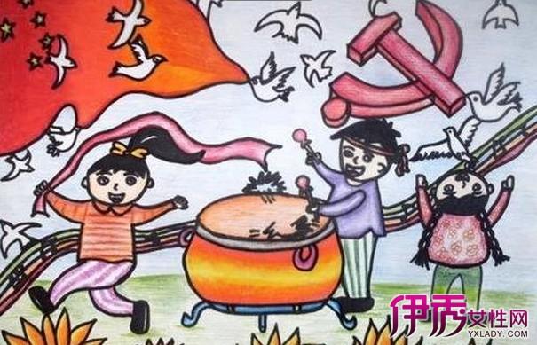 【抗战胜利简单儿童画】【图】抗战胜利简单儿童画