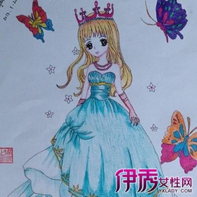 【公主儿童画画三年级】【图】欣赏公主儿童画画三