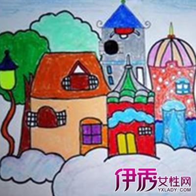 【图】欣赏城堡图片儿童画