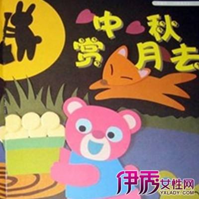 【幼儿园中秋节手工画】【图】幼儿园中秋节手工画