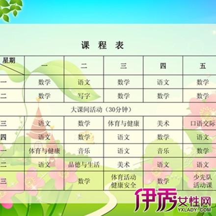 【幼儿园小班课程表】【图】幼儿园小班课程表