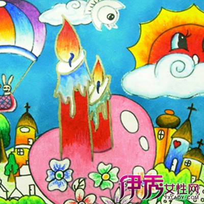 欣赏中国梦儿童画 通过绘画了解孩子性格