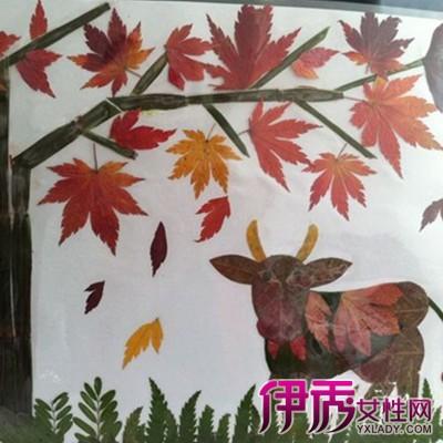 秋天儿童树叶粘贴画 儿童手工粘贴画的详细制作过程