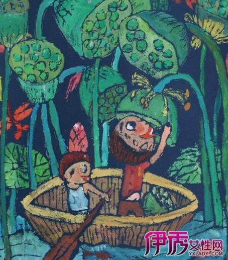 【儿童吹塑版画】【图】儿童吹塑版画的制作方法