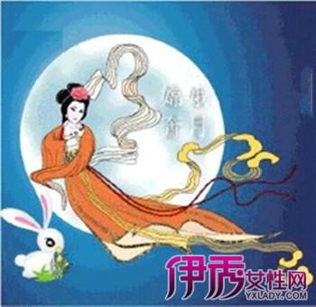 【中秋节儿童简笔画】【图】中国传统节日中秋节儿童