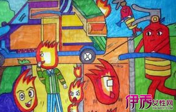 【儿童消防主题绘画】【图】儿童消防主题绘画欣赏