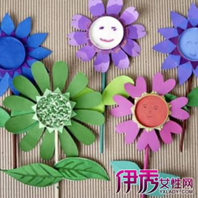 【幼儿园手工花朵】【图】幼儿园手工花朵制作
