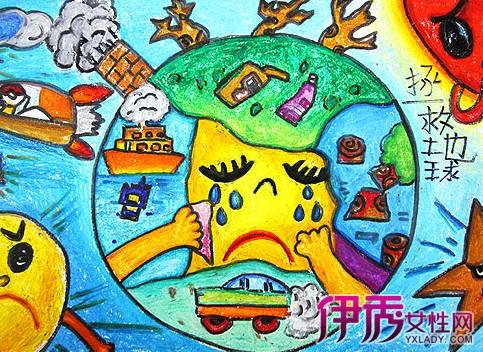 幼儿创意绘画作品 打开孩子幻想小天地