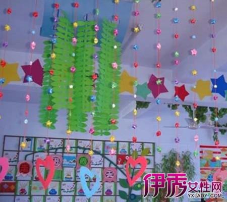 【幼儿园手工吊饰】【图】幼儿园手工吊饰布置设计