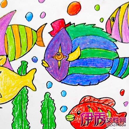 【幼儿绘画海底世界】【图】幼儿绘画海底世界图片
