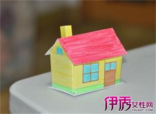 【儿童手工制作小房子】【图】精美的儿童手工制作小