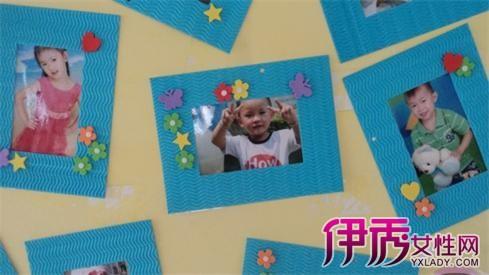 【幼儿园作品墙饰边框】【图】精美幼儿园作品墙饰