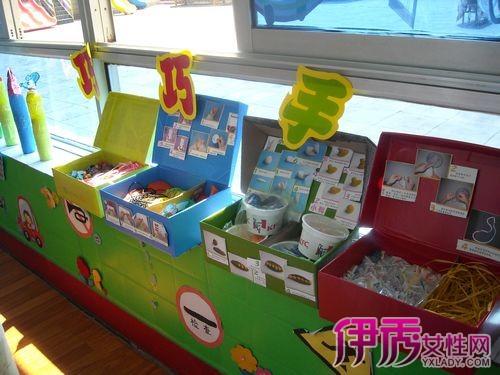 【幼儿园区域角美工区】【图】布置幼儿园区域角美工