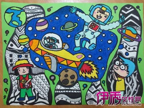 【图】展示幼儿园创意美术作品 孩子多元智能得到充分开发图片