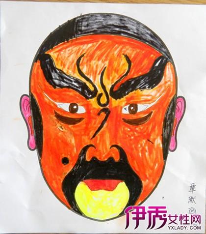【幼儿园脸谱简笔画】【图】幼儿园脸谱简笔画欣赏