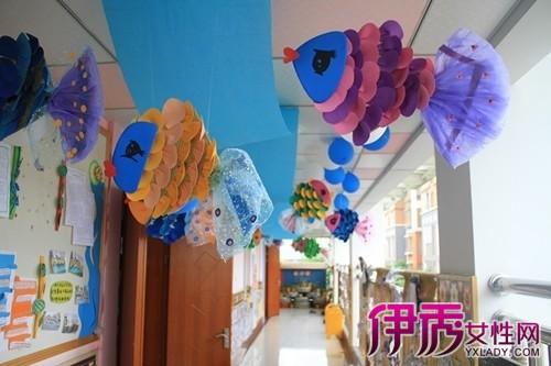 【图】幼儿园教室创意吊饰图片