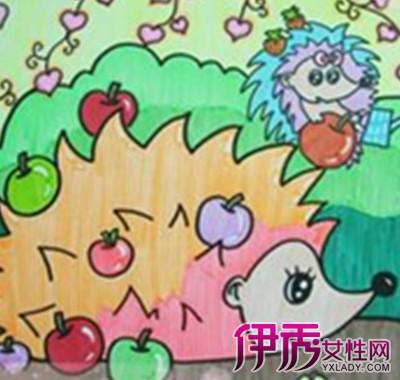 【刺猬儿童画】【图】刺猬儿童画图片盘点