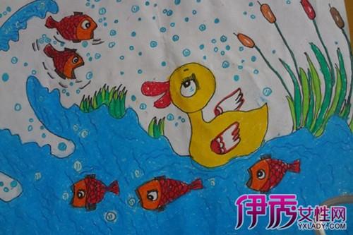 二年级绘画作品图片 儿童时期绘画的特点介绍