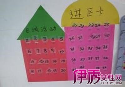 【幼儿园进区卡设计图片】【图】幼儿园进区卡设计
