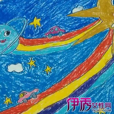 儿童科幻画获奖作品图片二:这是一幅很强悍的科幻画作品啊.在小