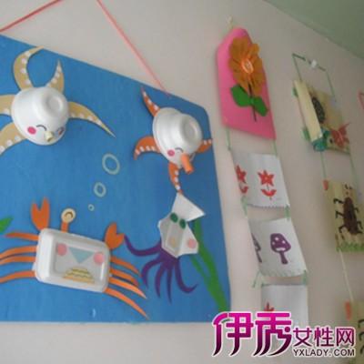 幼儿园碎蛋壳粘贴画